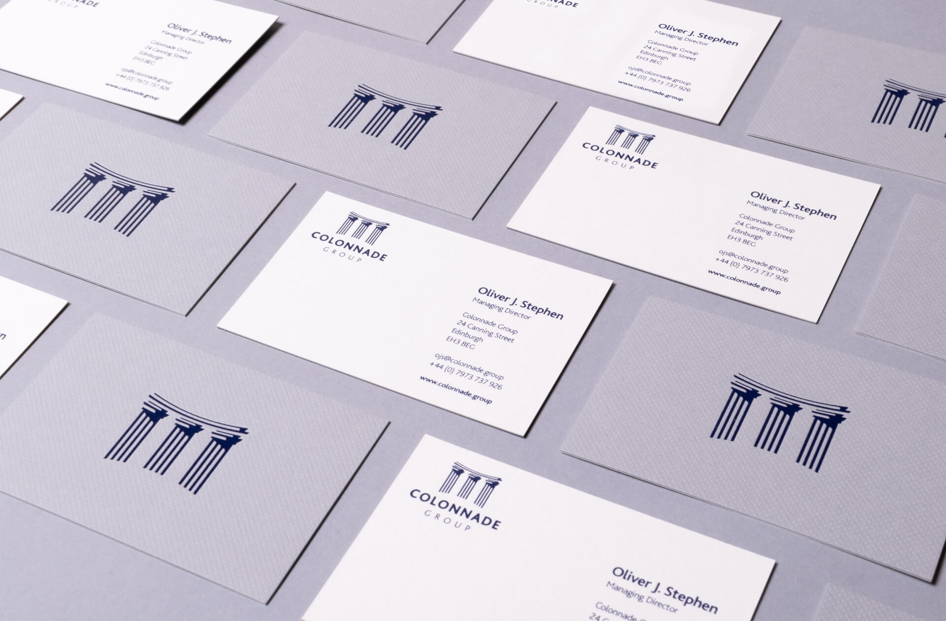 Colonnade Group Business Cards