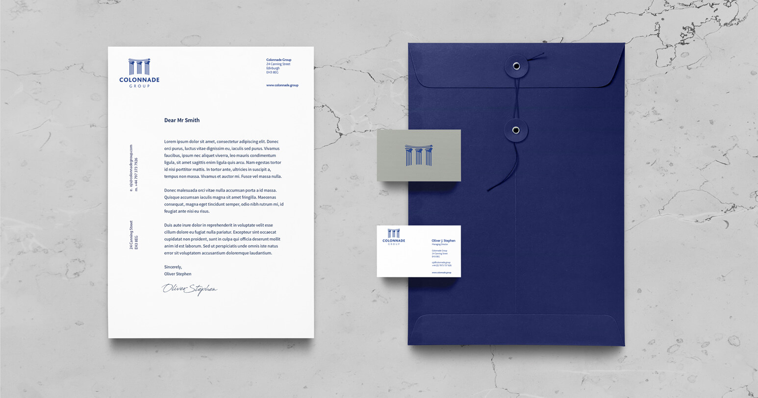 Colonnade Stationery