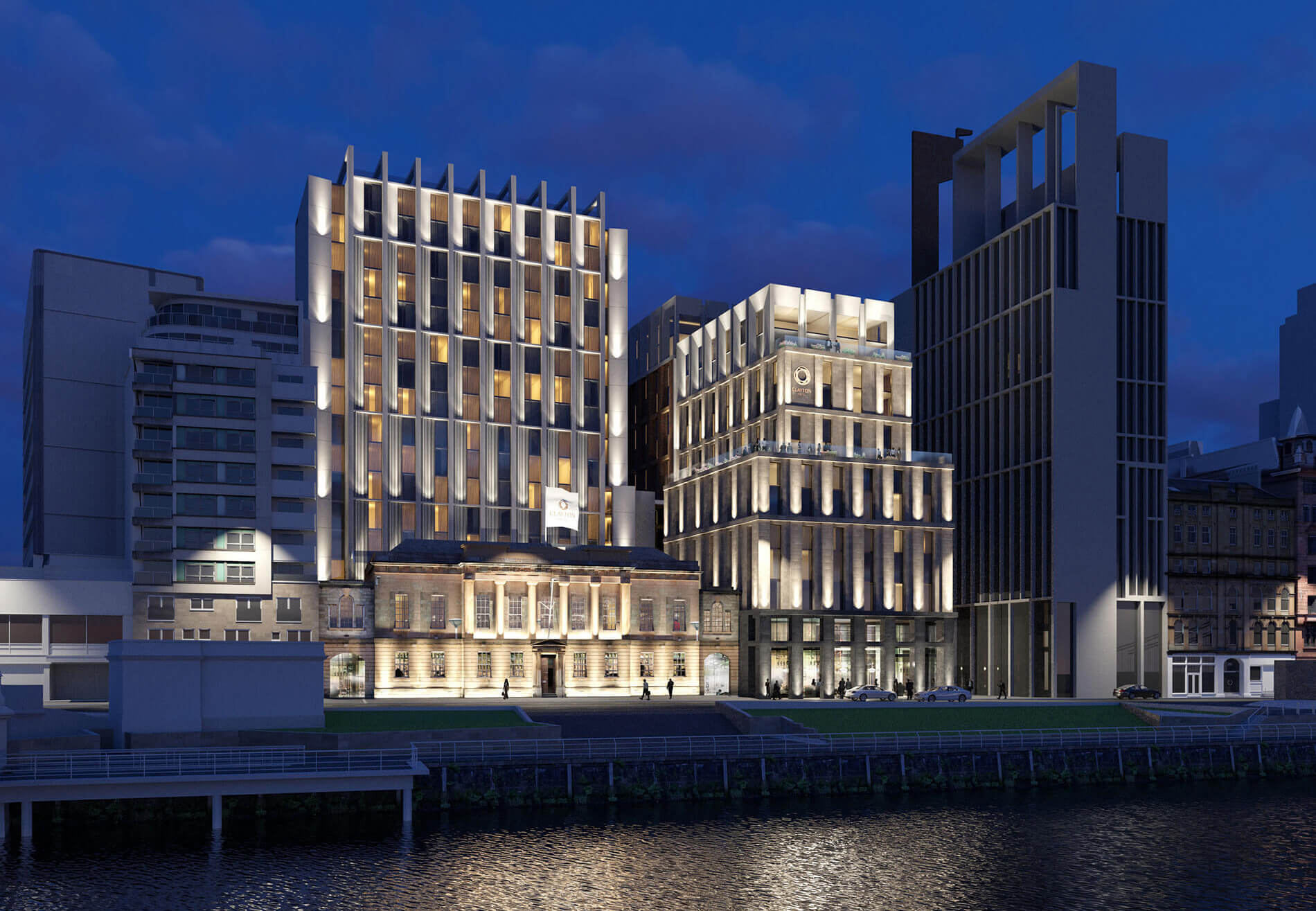 Custom House CGI