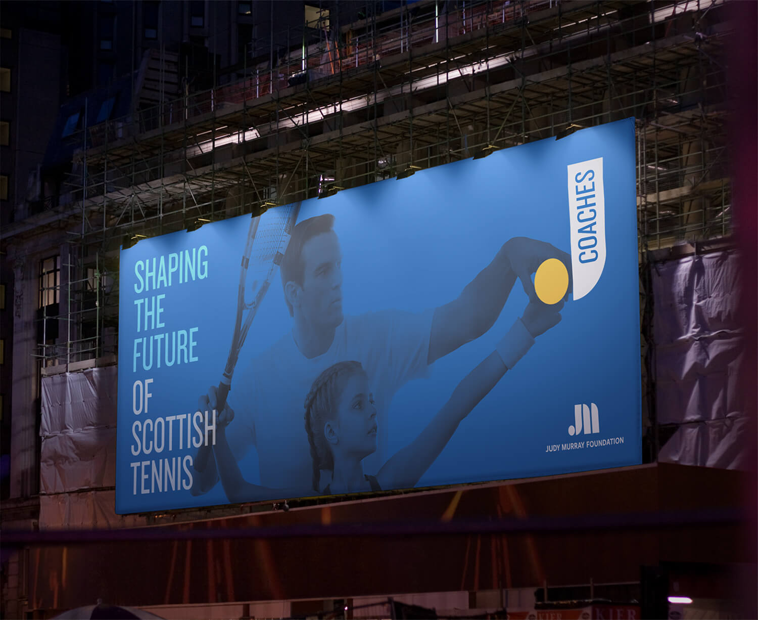Judy Murray Foundation Signage